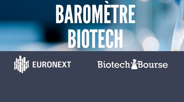 Euronext et BiotechBourse lancent le premier baromètre trimestriel de la biotech