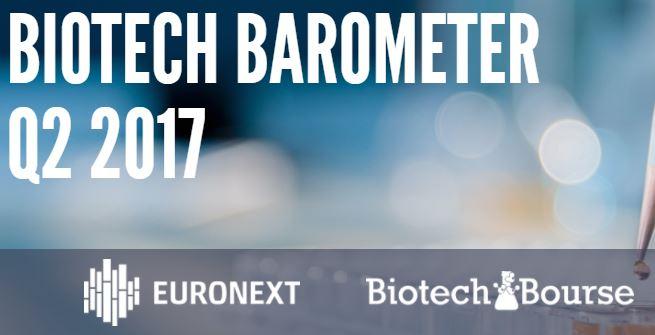 Euronext et BiotechBourse publient leur baromètre Q2 de la Biotech